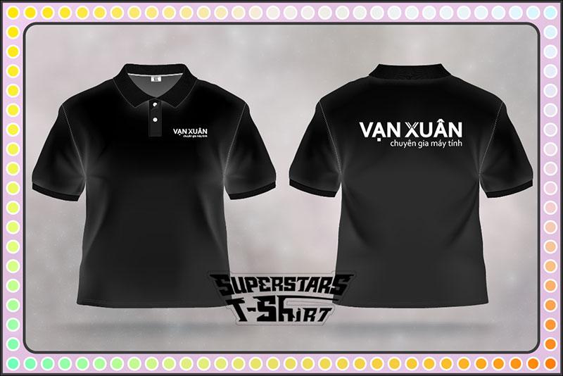 Đồng phục áo thun công ty Vạn Xuân