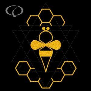 Ve mui theu vi tinh logo con ong