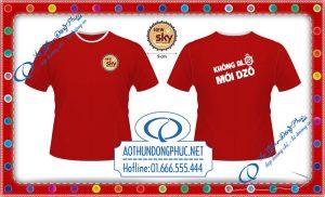 Áo đồng phục nhân viên nam-New Sky In áo đồng phục nhân viên, các mẫu áo đồng phục đều được thiết kế miễn phí tại aothundongphuc.net Nhận in trên tất cả các loại vải, in đồng phục quán, in đồng phục áo thun nhân viên giá rẻ