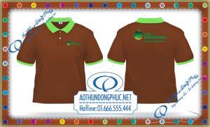 In áo nhân viên shop trái cây Năm Châu In áo thun nhân viên, in áo phông đồng phục Hà Nội và Tp.HCM Xưởng may áo thun đồng phục chất lượng và uy tín, chuyên nghiệp có từ 2010