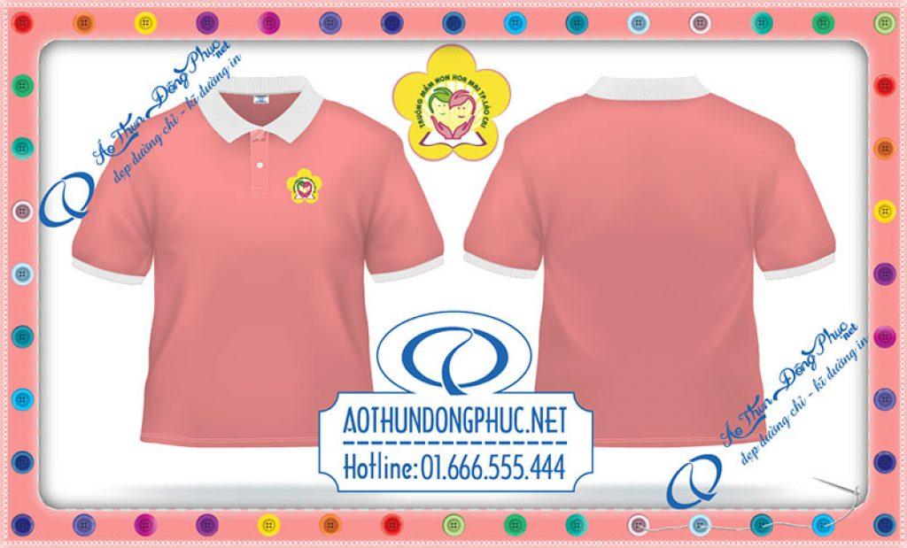 Đồng phục giáo viên mầm non Hoa Mai-Lào Cai