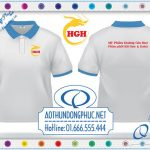 In áo thun đại lý Hoàng Gia Huy In đồng phục áo thun cá sấu giá rẻ In áo đồng phục nhân viên cửa hàng, đại lý mỹ phẩm tại TP.HCM và Hà Nội