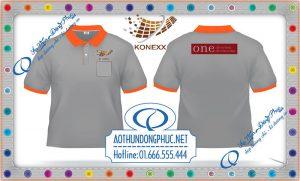 Công ty chúng tôi nhận may áo thun, in áo đồng phục theo yêu cầu.Thiết kế áo thun đồng phục có túi hoặc cài viết miễn phí.Giao áo thun nhanh và miễn phí các đơn hàng từ 100 cái trở lên trên toàn quốc.