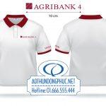 May áo thun đồng phục nhân viên Agribank Quận 4