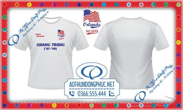 Mẫu áo đồng phục lớp-cựu học sinh Trường Quang Trung