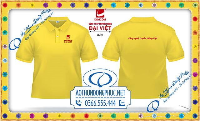 Mẫu áo thun đồng phục công ty Đại Việt