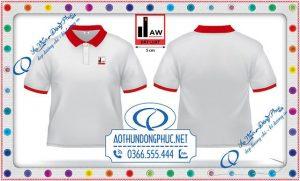 Mẫu đồng phục áo thun công ty Đất Luật
