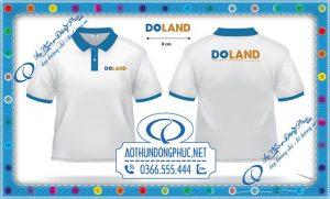 Mẫu áo đồng phục nhân viên Công ty Cổ Phần Đầu Tư Và Phát Triển Doland Vietnam