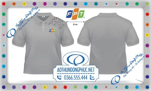 Mẫu áo thun đồng phục FPT