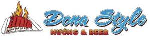 Logo đồng phục nhà hàng nướng & Beer Dona Style