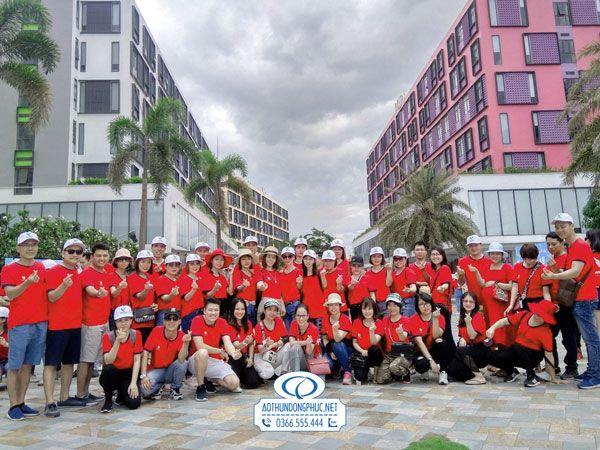 Áo đồng phục teambuilding