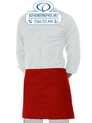 Đồng phục tạp dề ngắn đeo ngang hông