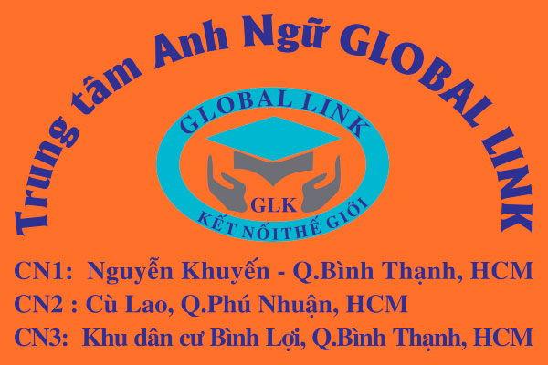Logo in trên áo đồng phục học sinh Global Link TpHCM