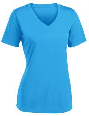 Áo đồng phục cổ tim nữ
