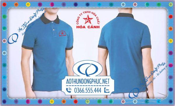 Mẫu áo đồng phục công nhân viên Hóa Cảnh
