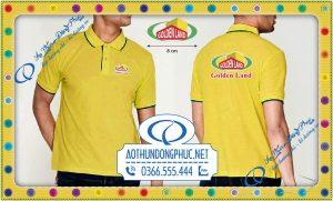 In đồng phục áo thun công ty BĐS Golden Land
