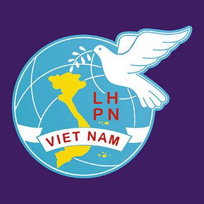 Logo áo nhóm bếp ăn nghĩa tình hội liên hiệp phụ nữ Việt Nam