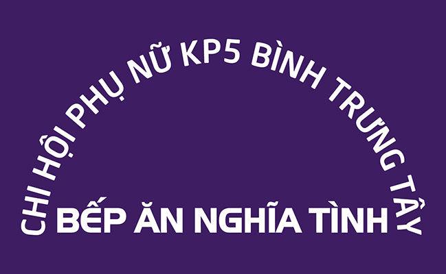 Logo áo nhóm bếp ăn nghĩa tình hội liên hiệp phụ nữ Việt Nam hình 02