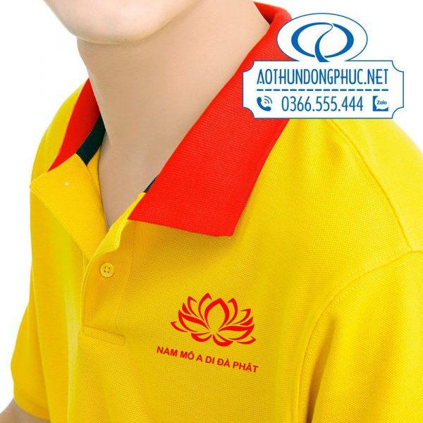 Mẫu logo in trên áo đồng phục clb thiện nguyện Ánh Sáng Từ Bi