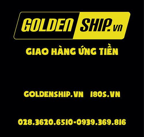 Logo in Đồng phục Công Ty Golden Ship