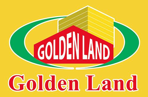 Logo in đồng phục áo thun nhân viên công ty BĐS Golden Land
