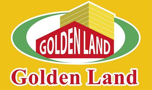 Logo in đồng phục mũ lưỡi trai tập thể nhân viên công ty BĐS Golden Land