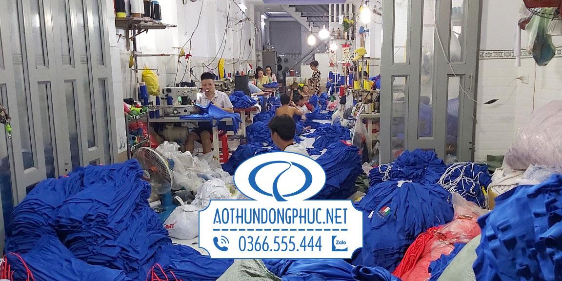 Cơ sở may áo thun đồng phục công ty Phục Đồng