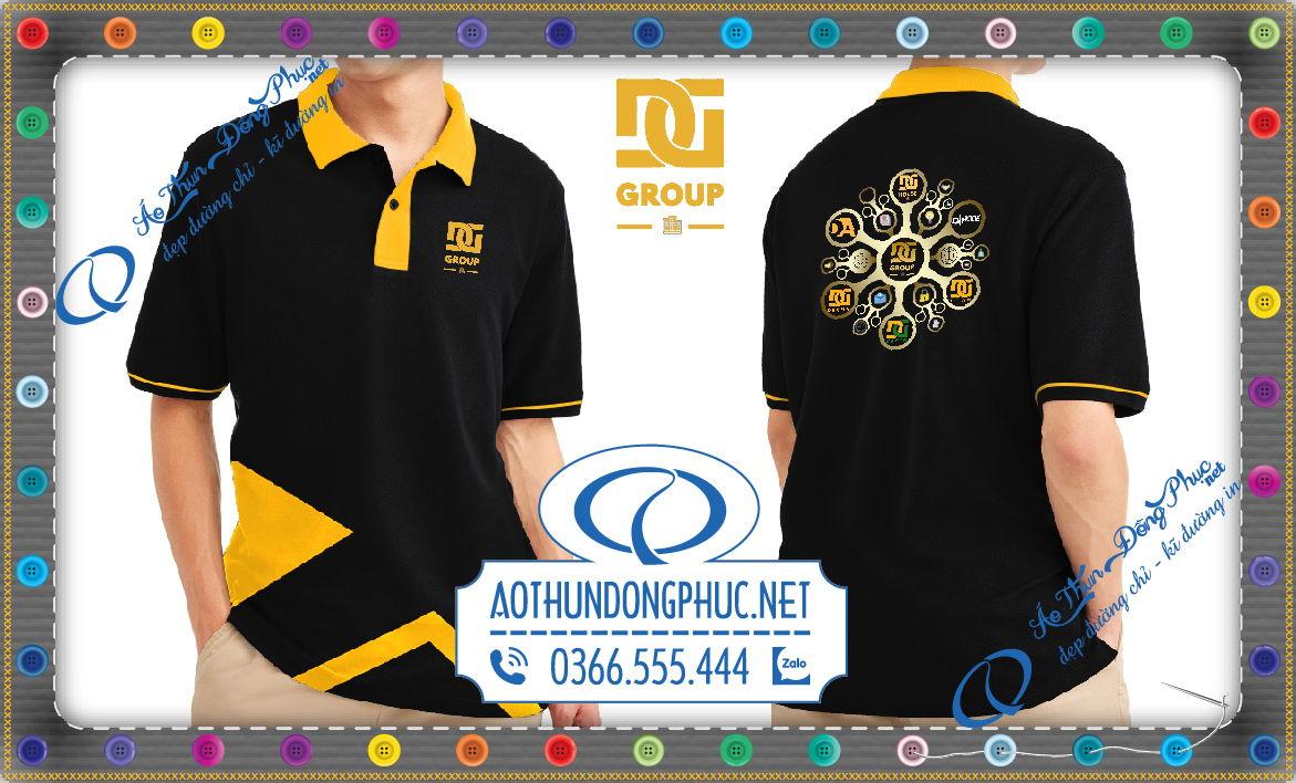 Đồng phục áo thun tập đoàn IT DG Group
