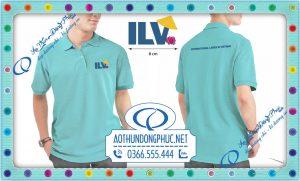 Mẫu đồng phục áo thun tập thể tổ chức ILV