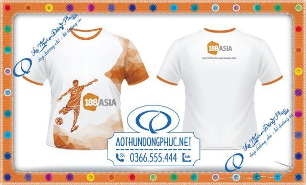 Áo đồng phục đá banh công ty giải trí 188 Asia