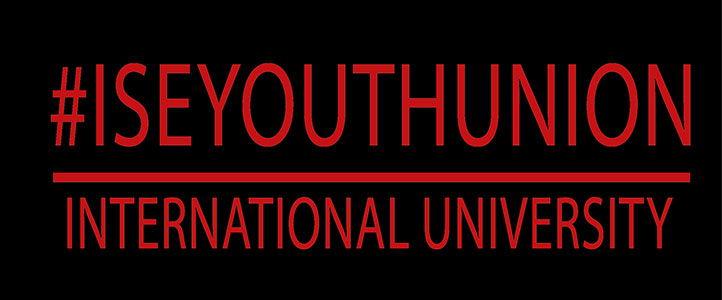 Logo in trên áo đồng phục nhóm ĐH Quốc Tế 01