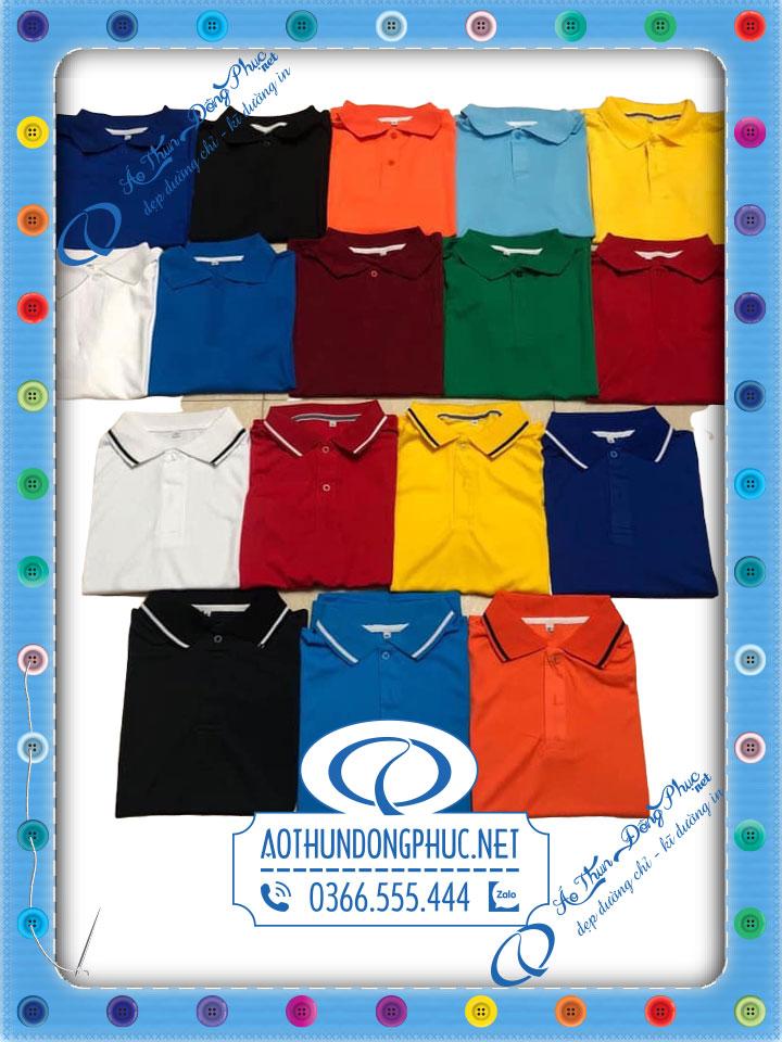 Lựa chọn màu áo theo mẫu đồng phục đang hot mảng áo thun