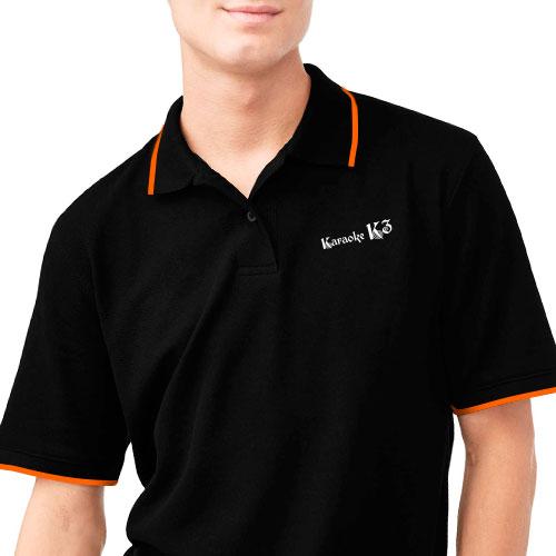 Mẫu in logo lên áo thun đồng phục