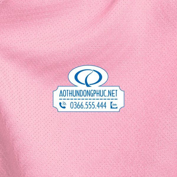 Mẫu vải áo đồng phục chất liệu thun lạnh