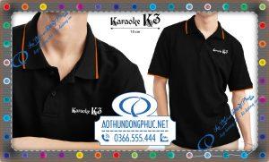 Đồng phục áo thun quán hát Karaoke K3