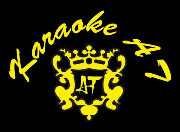 Mẫu logo in lên áo thun đồng phục nữ nhân viên quán Karaoke AT 02