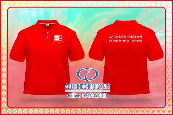 Áo đồng phục nhân viên Thái An