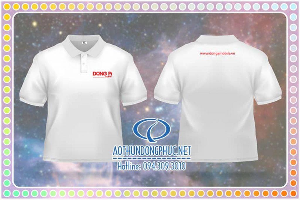 Đồng phục áo thun nhân viên Công Ty Đông Á
