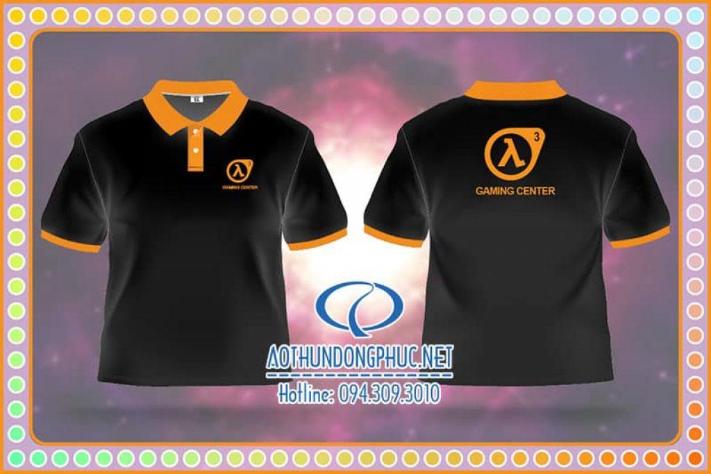 Đồng phục áo thun nhân viên quán Gaming