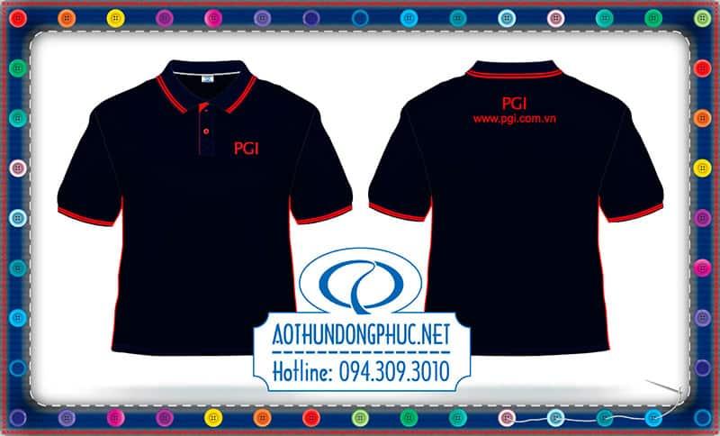 In cao áo đồng phục PGI