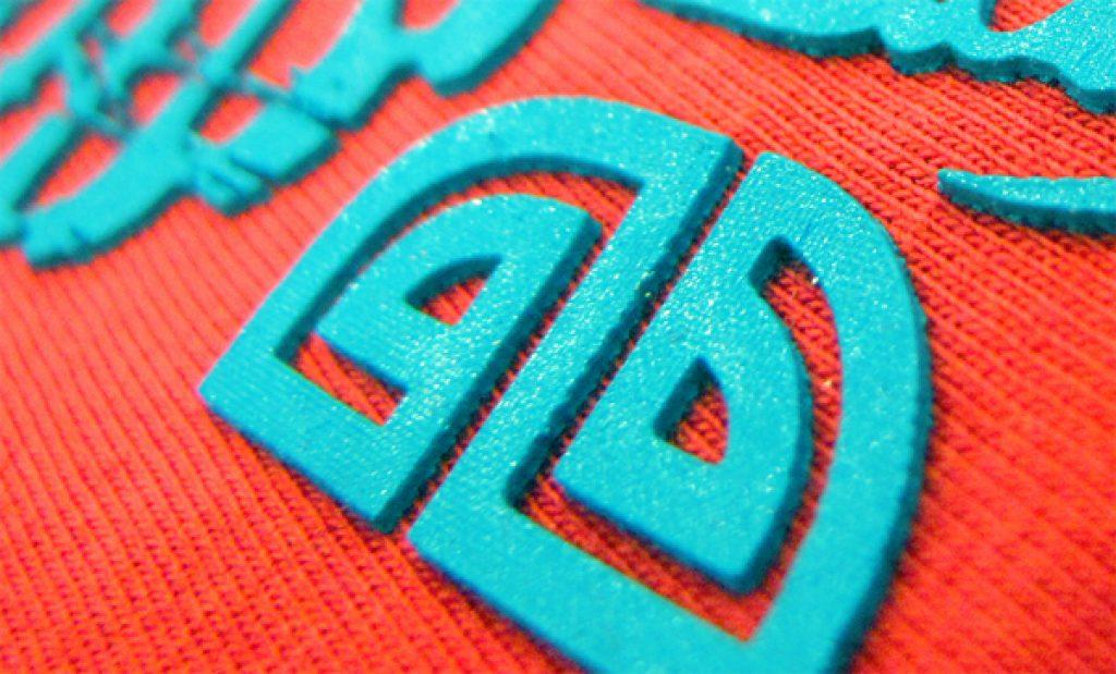 In nổi - in cao áo thun 2.5 mm