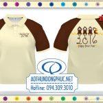 Áo thun đồng phục mới Tết 2016 Mẫu áo thun mới nhất 2016 Áo thun đồng phục đẹp Tết 2016