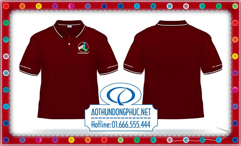 May áo thun đồng phục công sở công ty Tường Khoa