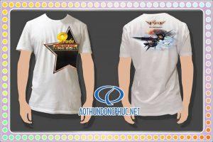 Áo thun quảng cáo game VTC Áo thun quà tặng, áo thun khuyến mãi, áo thun chương trình game VTC