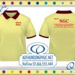 Áo phông nhân viên SGC tại Hà Nội-HCMMay áo phông, may áo phông đồng phục chất lượng, uy tín, cam kết đúng hẹn.Nhận may áo phông tại Hà Nội, áo thun đồng phục giá rẻ tại TpHCM
