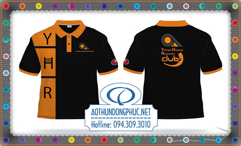 Áo thun câu lạc bộ Thiết kế áo thun đồng phục câu lạc bộ theo yêu cầu Miễn phí thiết kế áo thun khi đặt may tại https://aothundongphuc.net Áo thun phối câu lạc bộ Young Human Resource