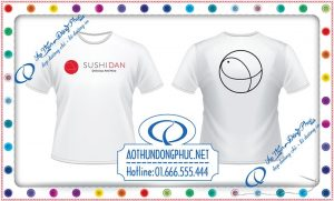 Đồng phục áo phông nhân viên Shushi Dan