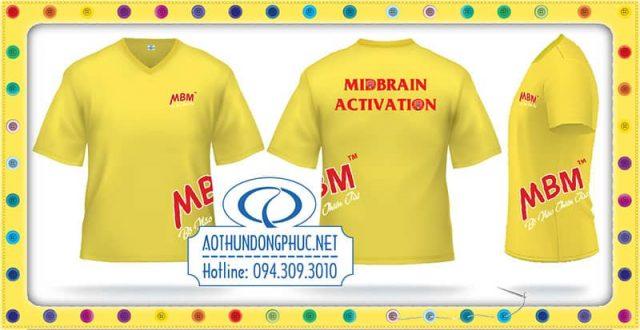 Áo thun quảng cáo MBM