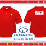 Áo thun đồng phục màu đỏ Ao thun Polo, áo thun đồng phục màu đỏ. Áo thun cổ bẻ, đồng phục áo thun có cổ May đồng phục áo thun công ty, áo thun nhân viên