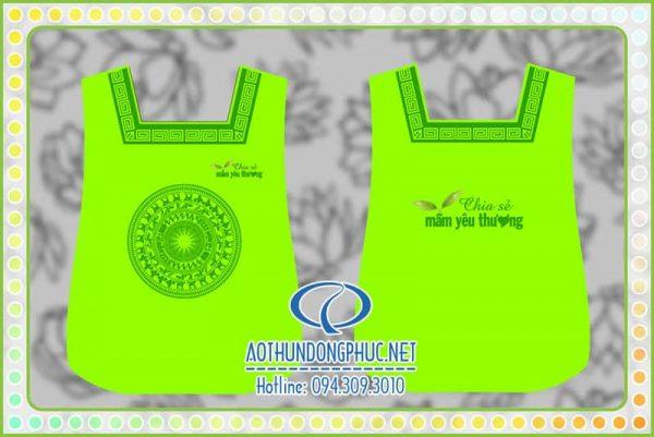 Tạp dề bếp Công ty Sen Việt
